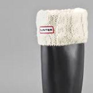 Hunter Boot Socks (cable cuff)
